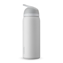 Load image into Gallery viewer, 32oz Shy Marshmallow Stainless Steel Insulated Owala Flip Water Bottle