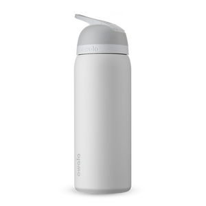 32oz Shy Marshmallow Stainless Steel Insulated Owala Flip Water Bottle