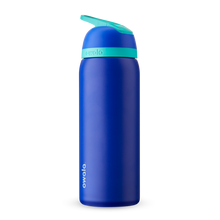 Load image into Gallery viewer, 32oz Smooshed Blueberry Stainless Steel Insulated Owala Flip Water Bottle