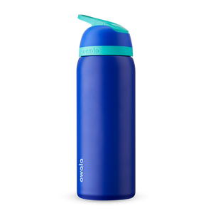 32oz Smooshed Blueberry Stainless Steel Insulated Owala Flip Water Bottle