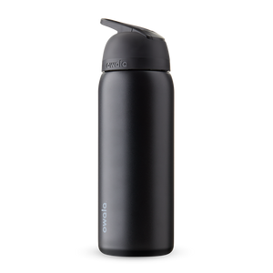 32oz Very, Very Dark Stainless Steel Insulated Owala Flip Water Bottle