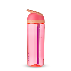 25oz Hyper Flamingo BPA Free Tritan Owala Flip Water Bottle