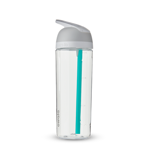 25oz Shy Marshmallow BPA Free Tritan Owala Flip Water Bottle