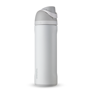 24oz Shy Marshmallow Stainless Steel Insulated Owala FreeSip Water Bottle