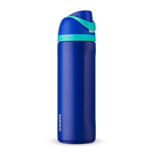 Load image into Gallery viewer, 24oz Smooshed Blueberry Stainless Steel Insulated Owala FreeSip Water Bottle