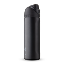 Load image into Gallery viewer, 24oz Very, Very Dark Stainless Steel Insulated Owala FreeSip Water Bottle