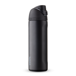 24oz Very, Very Dark Stainless Steel Insulated Owala FreeSip Water Bottle