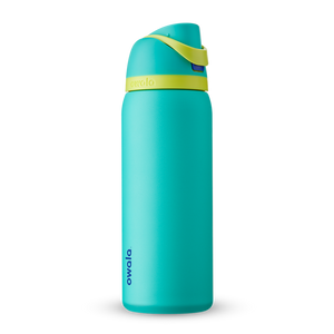 32oz Neon Basil Stainless Steel Insulated Owala FreeSip Water Bottle