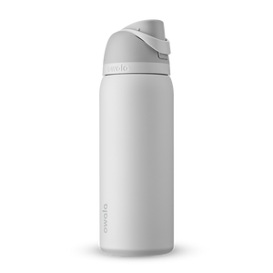 32oz Shy Marshmallow Stainless Steel Insulated Owala FreeSip Water Bottle