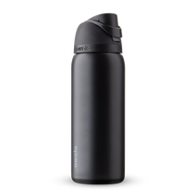 Load image into Gallery viewer, 32oz Very, Very Dark Stainless Steel Insulated Owala FreeSip Water Bottle