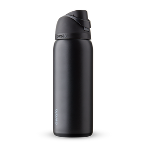 32oz Very, Very Dark Stainless Steel Insulated Owala FreeSip Water Bottle