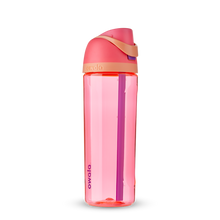 Load image into Gallery viewer, 25oz Hyper Flamingo BPA Free Tritan Owala FreeSip Water Bottle