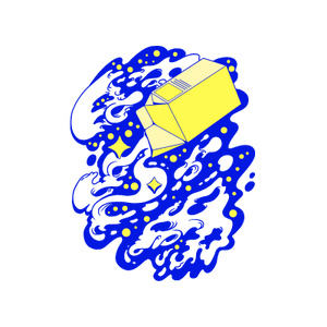 milky way sticker