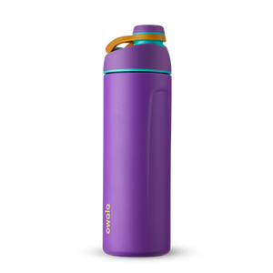 24oz Hint of Grape Stainless Steel Insulated Owala Twist Water Bottle