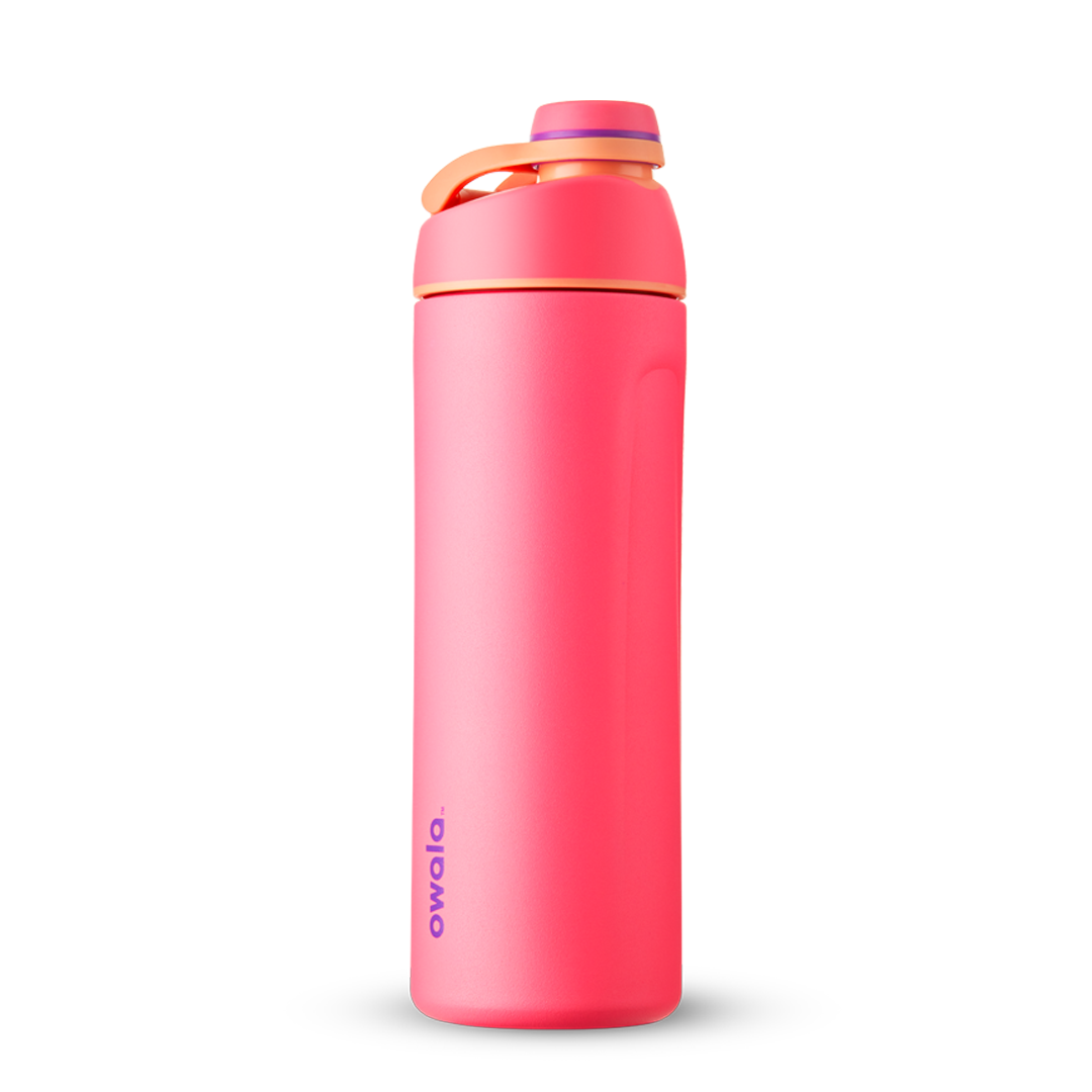 19oz Hyper Flamingo Stainless Steel Insulated Owala Twist Water Bottle