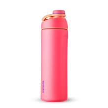 Load image into Gallery viewer, 24oz Hyper Flamingo Stainless Steel Insulated Owala Twist Water Bottle
