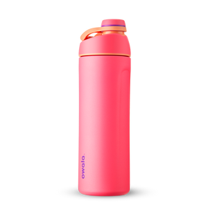 24oz Hyper Flamingo Stainless Steel Insulated Owala Twist Water Bottle