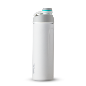 19oz Shy Marshmallow Stainless Steel Insulated Owala Twist Water Bottle