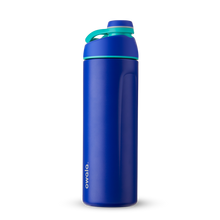 Load image into Gallery viewer, 24oz Smooshed Blueberry Stainless Steel Insulated Owala Twist Water Bottle