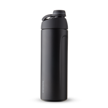 Load image into Gallery viewer, 19oz Very, Very Dark Stainless Steel Insulated Owala Twist Water Bottle
