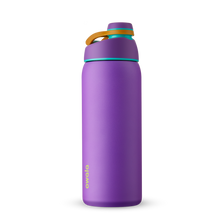 Load image into Gallery viewer, 32oz Hint of Grape Stainless Steel Insulated Owala Twist Water Bottle