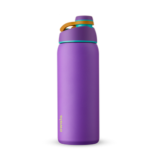 32oz Hint of Grape Stainless Steel Insulated Owala Twist Water Bottle