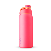Load image into Gallery viewer, 32oz Hyper Flamingo Stainless Steel Insulated Owala Twist Water Bottle