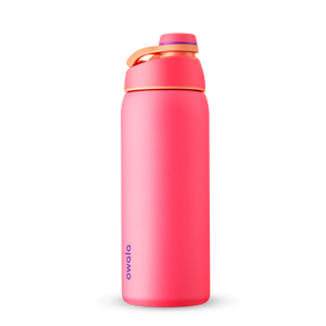 32oz Hyper Flamingo Stainless Steel Insulated Owala Twist Water Bottle
