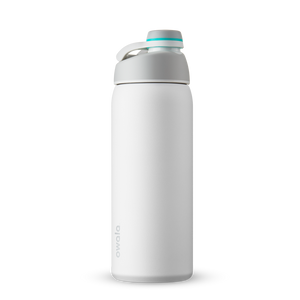 32oz Shy Marshmallow Stainless Steel Insulated Owala Twist Water Bottle