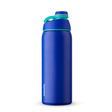 Load image into Gallery viewer, 32oz Smooshed Blueberry Stainless Steel Insulated Owala Twist Water Bottle