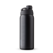 Load image into Gallery viewer, 32oz Very, Very Dark Stainless Steel Insulated Owala Twist Water Bottle