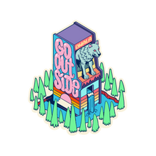 Load image into Gallery viewer, wolf arcade sticker