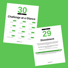 Load image into Gallery viewer, 30-Day Sustainability Challenge Workbook