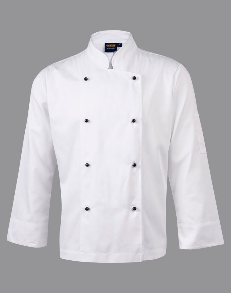 Winning Spirit - CJ01 CHEF'S LONG SLEEVE JACKET