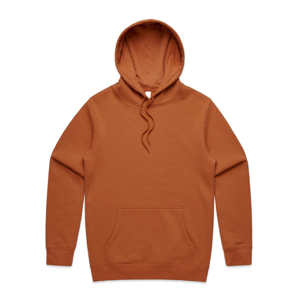 AS COLOUR MENS STENCIL HOODED JUMPER - 5102