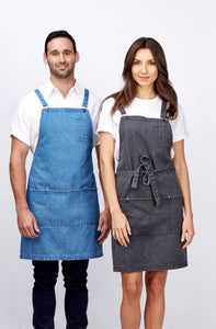 Identitee – Louie Denim Apron - A27