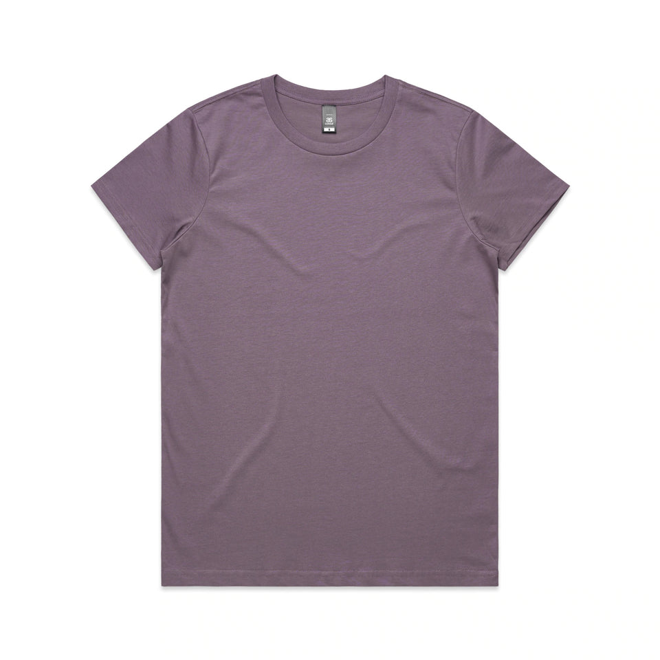 AS COLOUR - WOMEN'S MAPLE T-SHIRT - 4001