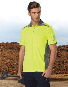 AIW - PS210 UNISEX COOLDRY® VENTED POLO