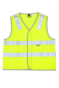 RAMO - 100% Polyester Vest with 3M reflective tape - V001HP