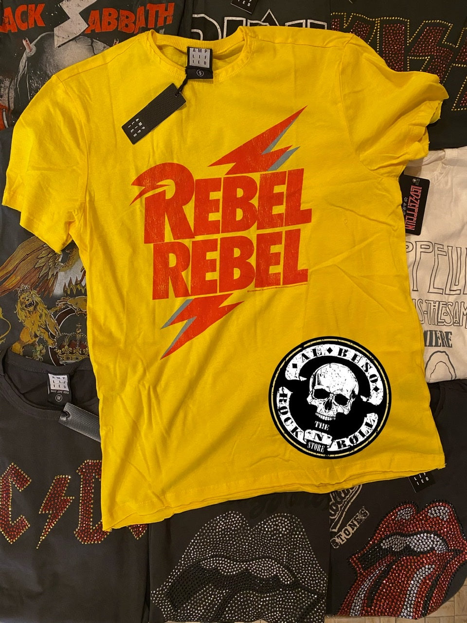 DAVID BOWIE - REBEL REBEL YELLOW