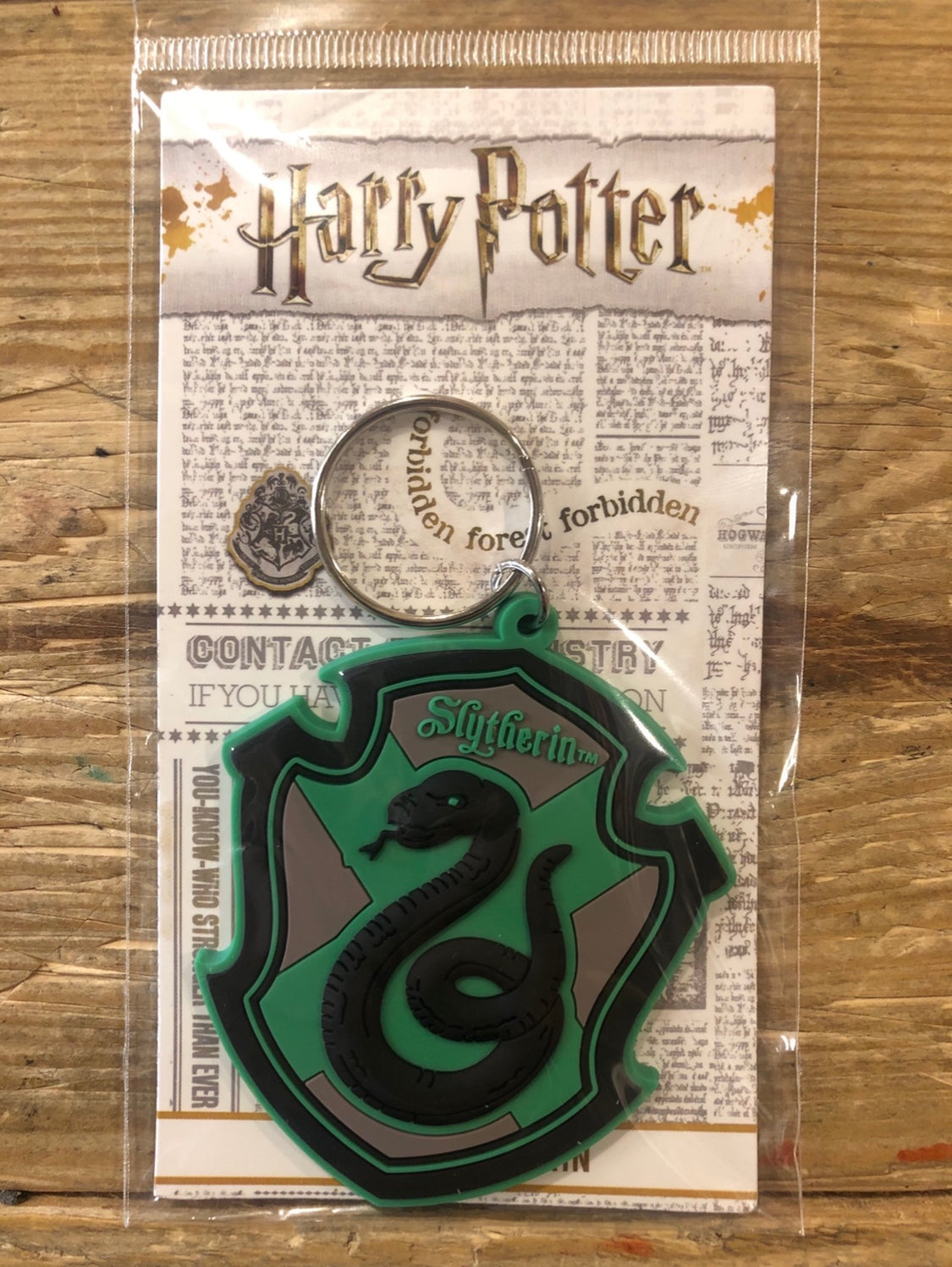 PORTACHIAVI HARRY POTTER - SERPE VERDE