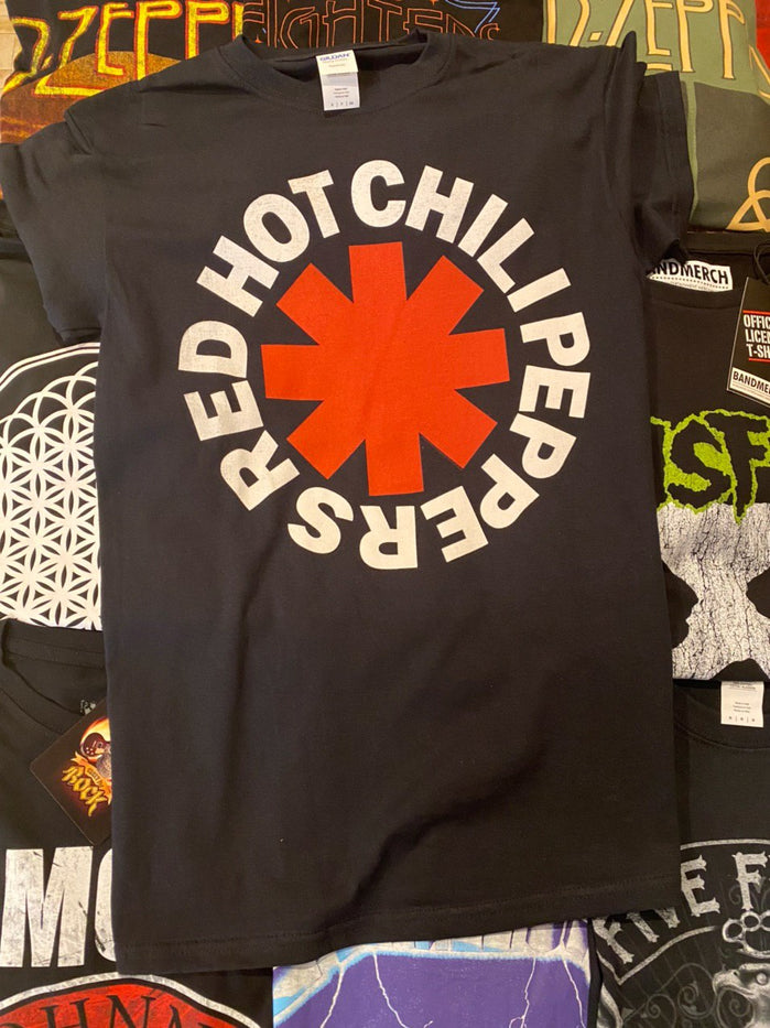 RED HOT CHILI PEPPERS UNISEX TEE: CLASSIC ASTERISK