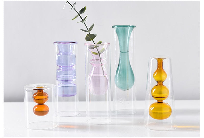 Double-Layer Vase