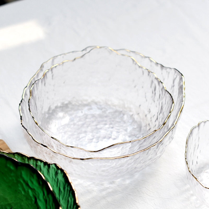 Iceberg Glass Bowls