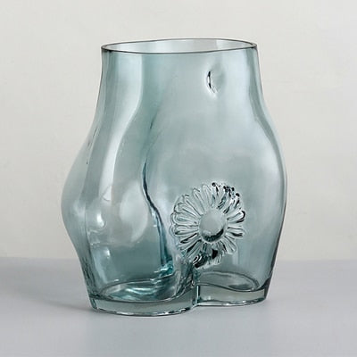 Abstract Body Vase