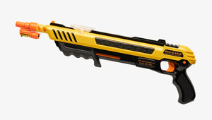 Yellow Bug-A-Salt gun with Bug Beam Attachment