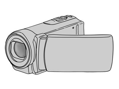 Image of hand-held video camera
