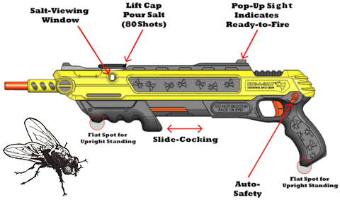 How the Bug-A-Salt Gun Works | Salt Gun