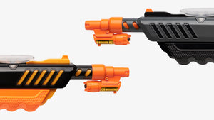 Two Bug-A-Salt guns with Bug Beam attachment