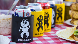 Bug-A-Salt beer Koozies